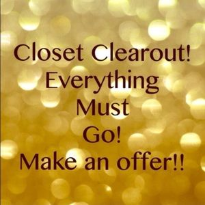Other - Make me an offer for any item in my closet